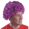 School Spirit Team Spirit Wig - Purple - Sports