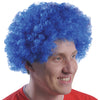 School Spirit Team Spirit Wig - Blue - Sports