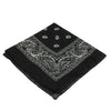 School Spirit Bandanas - Black (One Dozen) - Sports