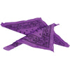 School Spirit Bandanas - Purple (One Dozen) - Sports