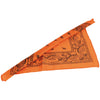 School Spirit Bandanas - Orange (One Dozen) - Sports