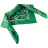 School Spirit Bandanas - Green (One Dozen) - Sports