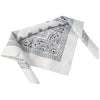 School Spirit Bandanas - White (One Dozen) - Sports