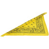 School Spirit Bandanas - Yellow (One Dozen) - Sports