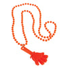 Hand Clapper Necklaces - Orange (One dozen) - Sports