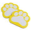 Paw Print Memo Pads, Yellow (one dozen) - Sports