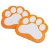 Paw Print Memo Pads, Orange (one dozen) - Sports