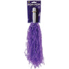 School Spirit Pom-Poms (Purple) (One Dozen) - Sports
