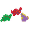 Mini Dino Erasers (Sold By Gross) - School Stuff