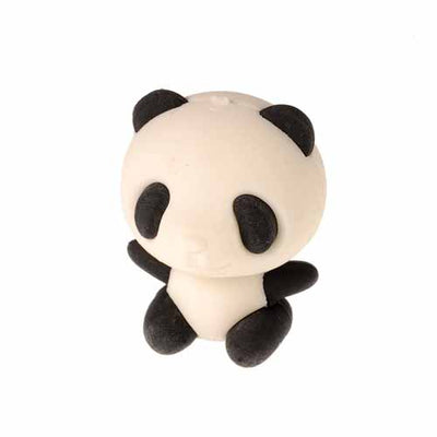 Panda Erasers - 6 Pieces - School Stuff
