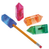 Pencil Shaped Eraser & Sharpener set - (24 sets) - School Stuff