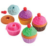 School Stuff - Cupcake Erasers (One Dozen)