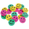 Mini Smile Erasers (144 pieces) - School Stuff