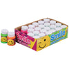 mini smile bubbles  - Carnival Supplies