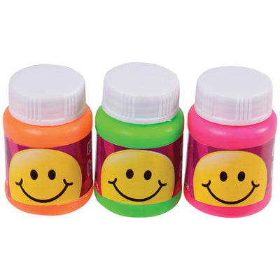 Mini Smile Bubbles (Box) - Party Supplies