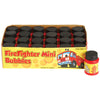 Firefighter Mini Bubbles - (Box of 24) - Party Supplies