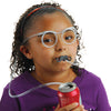 Moustache Drinking Straw Glasses by US Toy