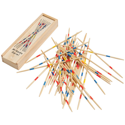 Wooden Pick Up Sticks (one set of 41 sticks) - Games and Puzzles