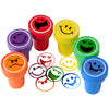 Smile Stampers, 6 Pieces - School Stuff