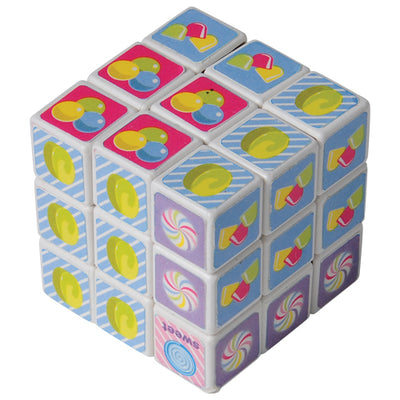 Mini Candy Puzzle Cubes - 4 Pieces - Games and Puzzles