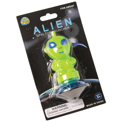 Alien Spin Top Launcher - Party Themes