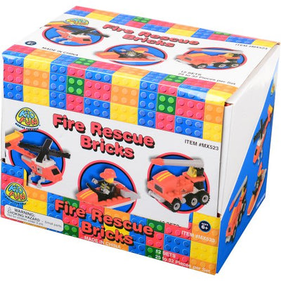 fire rescue bricks 25 to 32 pcs 1 dozen   Novelties and Toys