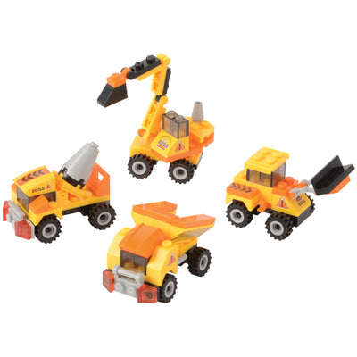 Construction Bricks, 27 To 32-Pcs (1 Dozen) - Party Themes