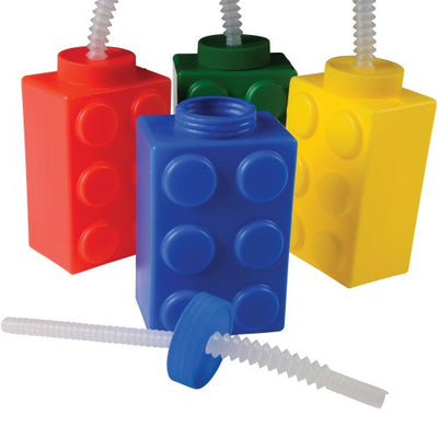 block mania sippers 1 dozen  - Carnival Supplies