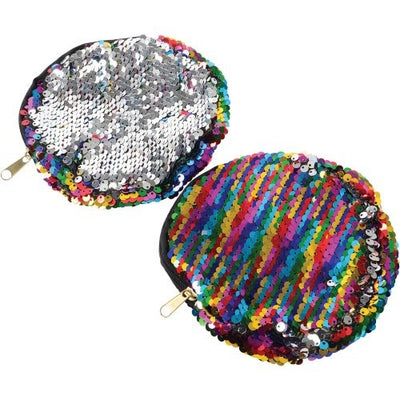 Rainbow Sequins Coin Purse by US Toy