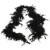 Feather Boa Black - Costumes and Accessories