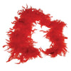 Feather Boa Red - Costumes and Accessories