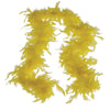 Feather Boa - Yellow - Costumes and Accessories