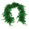 Feather Boa - Green - Costumes and Accessories