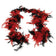 Feather Boa - Red-Black