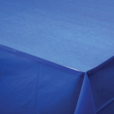 Plastic Tablecover (Dark Blue) - Party Supplies