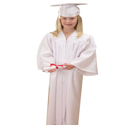 Party Themes - Graduation Outfit - White