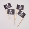 Pirate Pirate Flag Picks (144 pieces) - Party Supplies