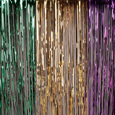 Hanging Curtain - Mardi Gras - Holidays