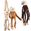 Jumbo Natural Monkeys (one dozen) - Toys