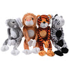 Wild Animals with Velcro Hands (1 Dozen) - Toys
