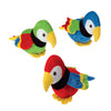 Plush Parrots (1 Dozen) - by Carnival Source Discount Toys