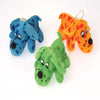 Plush Polka Dot Lay Down Dogs (1 Dozen) - Toys