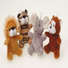 Furry Wild Animals (one dozen) - by Carnival Source Discount Toys