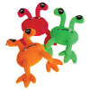 Plush Telescope Eye Aliens -3 Pack Assorted - Toys