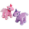 Pink & Purple Plush Unicorns (1 dozen) - Toys