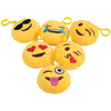 Emoji Clip Plush (pack of 12) - Party Themes