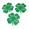 Shamrock Shape Magnets (One Dozen) - Holidays