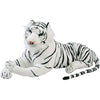 Plush Toy Jumbo Realistic White Tiger - Toys