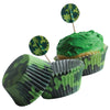 Camo Cupcake Kit - 24-sets - by Carnival Source Discount Toys