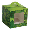 Camo Party Cupcake Boxes (One Dozen) - Party Themes